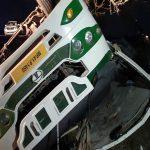 MP : बारातियों से भरी बस पलटी , दो की मौत, 40 घायल