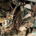 कानपुर में बस और टेम्पो की टक्कर में 17 की मौत